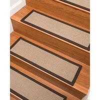 "Lindley Sisal Carpet Stair Treads  - Set of 13 - 9""x 29"""