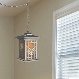 """Dale Tiffany Select 8.25""""W Multi Color Lantern Mini Pendant"""