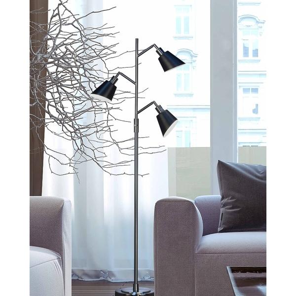 "Springdale 67.5""H Moresby 3-Light Directional Floor Lamp"