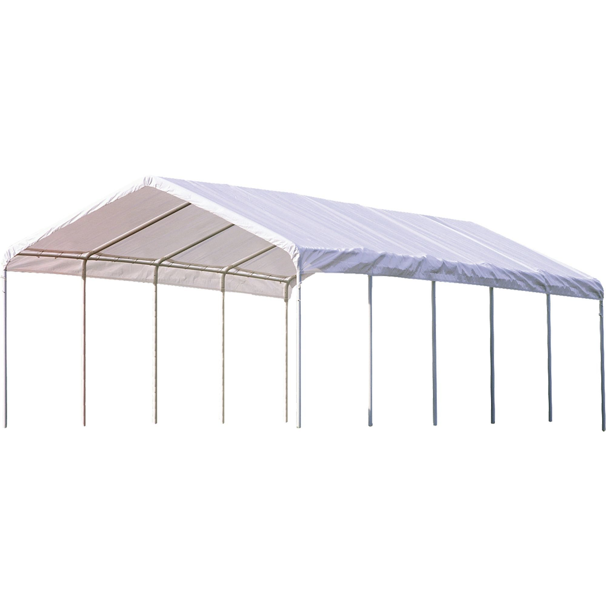 Shop Shelterlogic Super Max Premium Canopy Free Shipping Today Overstock 16806023
