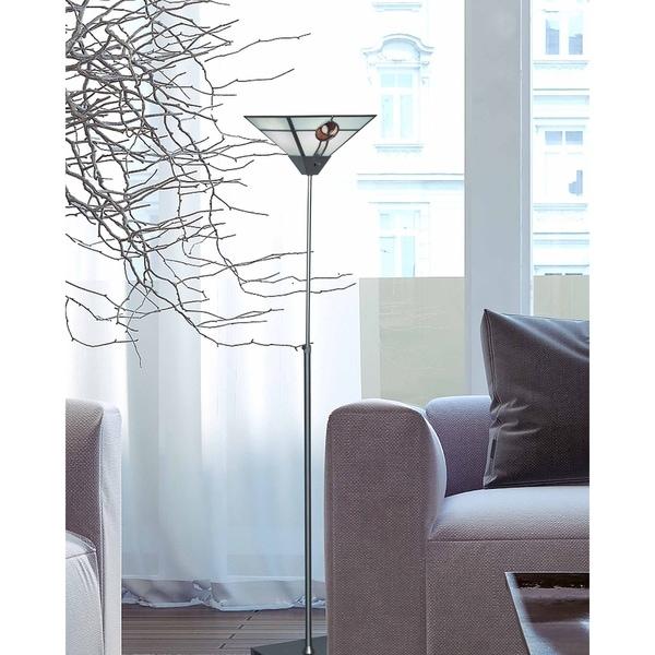 "Springdale 65.5""H Mack Rose Torchiere Lamp"