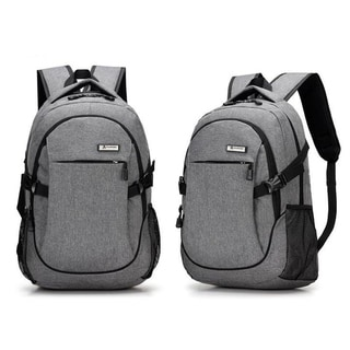 Coutlet Multifunction 15 inch Laptop Backpack with USB Charger Port