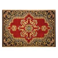 Handmade Herat Oriental Persian Kashan Wool Rug (Iran) - 2'2 x 3'1