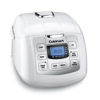 Cuisinart Fuzzy 8-Rice Cooker, White (Refurbished)