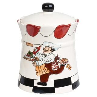 Chef Ceramic Cookie Jar