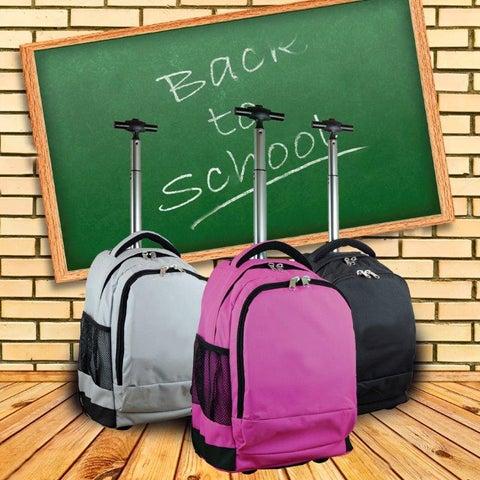 Mojo Wheeled Premium 17-inch Laptop Backpack