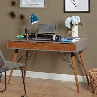Simple Living Ervin Mid-Century Desk