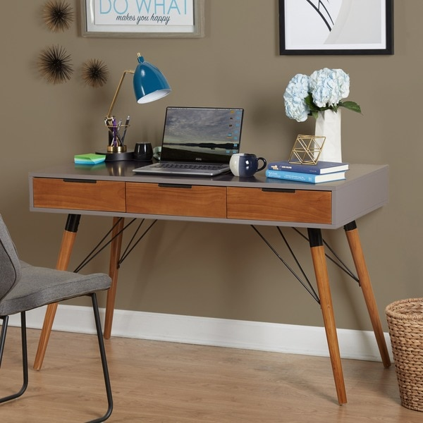 Simple Living Ervin Mid Century Desk