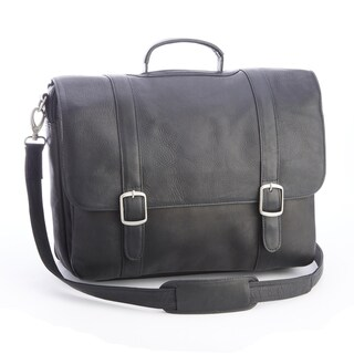 Royce Colombian Leather 15-inch Laptop Satchel Briefcase