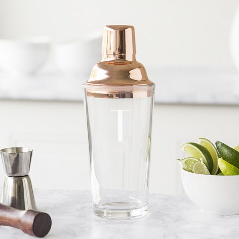 Personalized 20 oz. Copper Cocktail Shaker