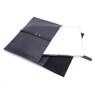 Royce American Leather Pebble Grain 13-inch Laptop Sleeve