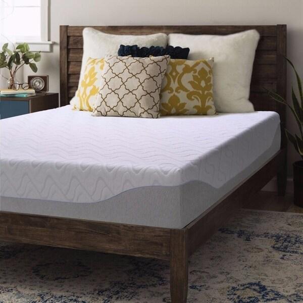 Full size Gel Memory Foam Mattress 9 inch - Crown Comfort