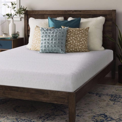 Full size Gel Memory Foam Mattress 7 inch - Crown Comfort