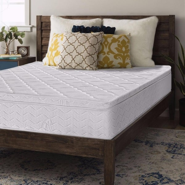 Full size Contour Supported Pocketed Spring Mattress 8 inch - Crown Comfort