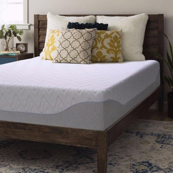 Crown Comfort 11-inch Queen Gel Memory Foam Mattress