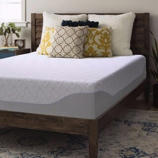 Queen size Gel Memory Foam Mattress 11 inch - Crown Comfort
