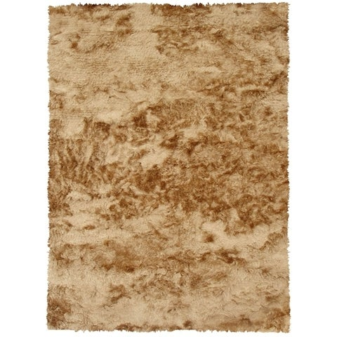 The Rug Market Gold Shag Area Rug - 8' x 10'