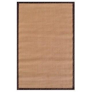 The Rug Market Brown/ Black Sisal Handmade Area Rug (8' x 10')