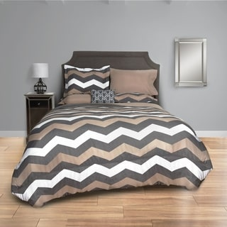 Taupe Chevron Bed in a Bag