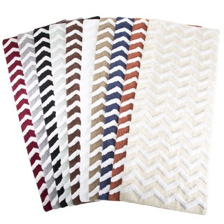 Windsor Home 24 x 60-inch 100 Cotton Chevron Bathroom Mat (As Is Item)