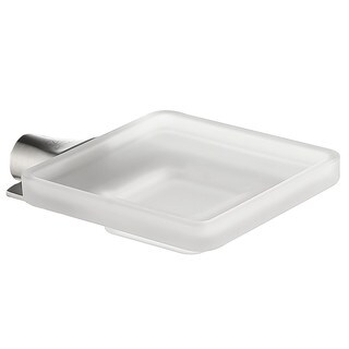 ANZZI Essence Series Soap Dish in Brushed Nickel