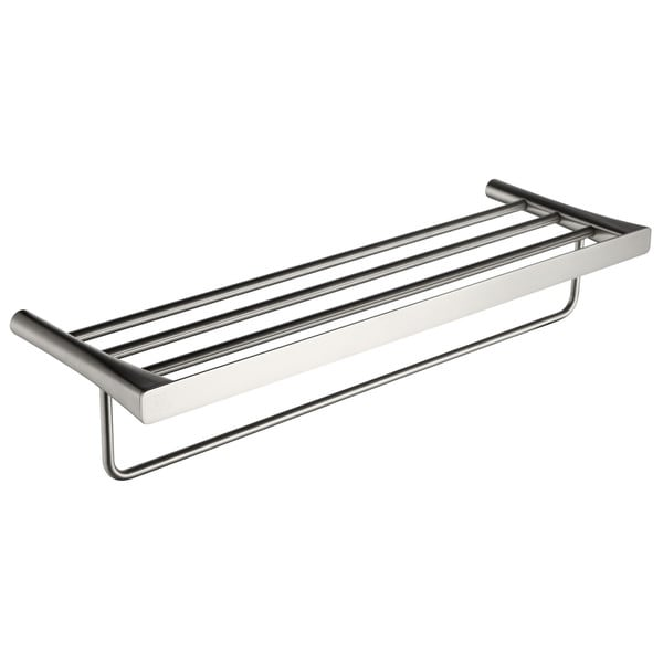 ANZZI Caster 3 Series Towel Rack in Brushed Nickel