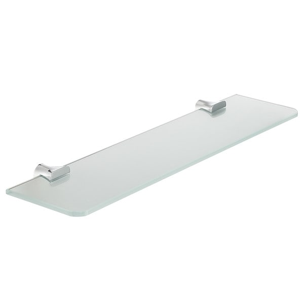 ANZZI Essence Series Glass Shelf in Polished Chrome. Opens flyout.
