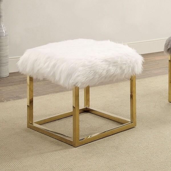 Shop Furniture Of America Tula Contemporary White 21-inch