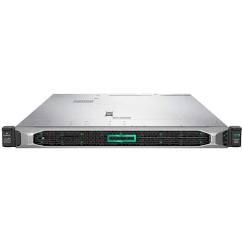 HPE ProLiant DL360 G10 1U Rack Server - 1 x Xeon Silver 4112 - 16 GB RAM HDD SSD - 12Gb/s SAS Controller