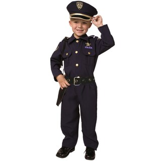 Award Winning Deluxe Police Costume Set (Size 2-18) (5 options available)