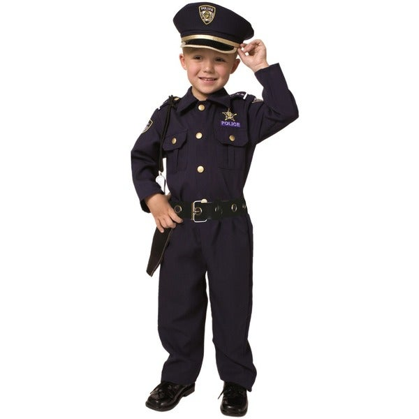 74a47c84bf6a9 Shop Award Winning Deluxe Police Costume Set (Size 2-18) - Free Shipping On  Orders Over $45 - Overstock - 1681361