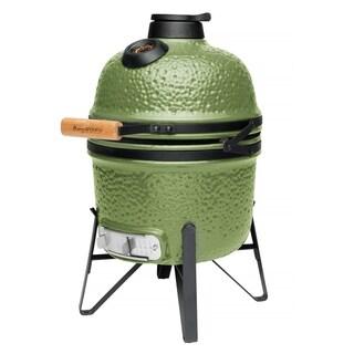 "Ceramic BBQ Olive Green 13"""