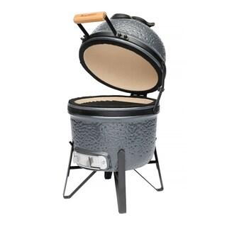 "Ceramic BBQ Bluestone grey 13"""