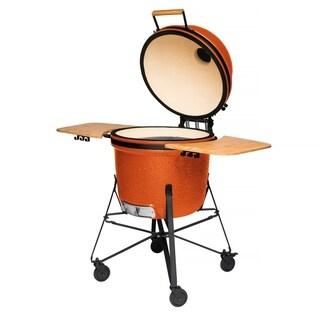 """Ceramic BBQ Bright Orange 21"""""""