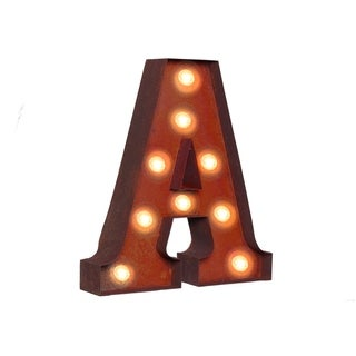 "VINTAGE RETRO LIGHTS & SIGNS Letter ""A"""