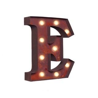 "VINTAGE RETRO LIGHTS & SIGNS Letter ""E"""