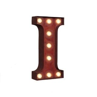 "VINTAGE RETRO LIGHTS & SIGNS Letter ""I"""