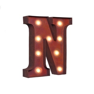 "VINTAGE RETRO LIGHTS & SIGNS Letter ""N"""