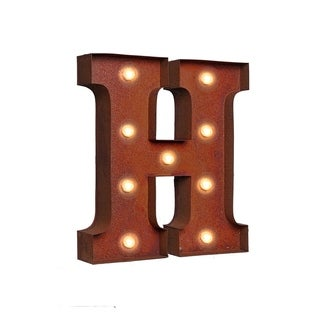 "VINTAGE RETRO LIGHTS & SIGNS Letter ""H"""