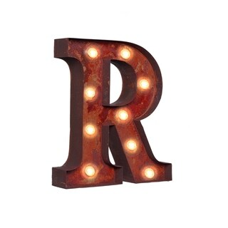 "VINTAGE RETRO LIGHTS & SIGNS Letter ""R"""