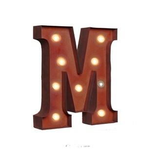 """VINTAGE RETRO LIGHTS & SIGNS Letter """"M"""""""