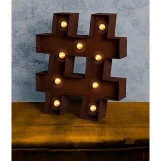 "VINTAGE RETRO LIGHTS & SIGNS  - ""at"" sign"