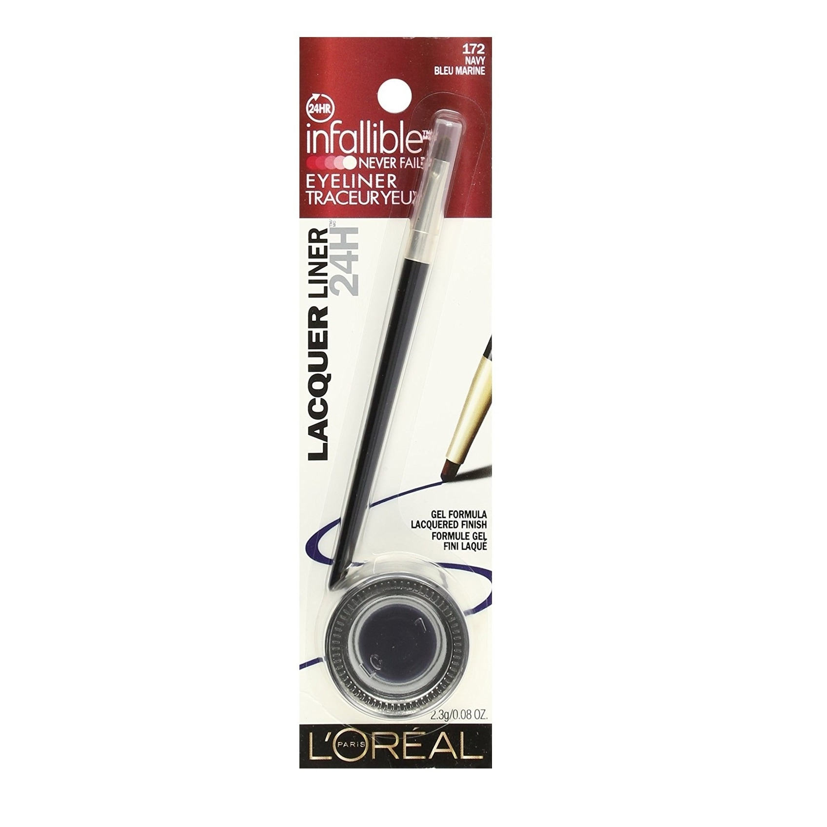 L'Oreal Infallible Never Fail Gel Eyeliner Lacquer Liner ...