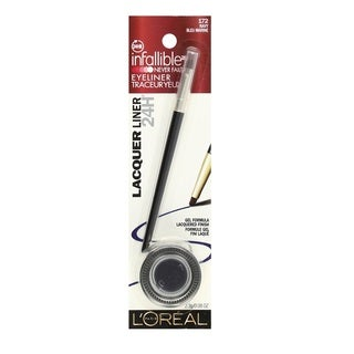 L'Oreal Infallible Never Fail Gel Eyeliner Lacquer Liner 172 Navy Blue Marine