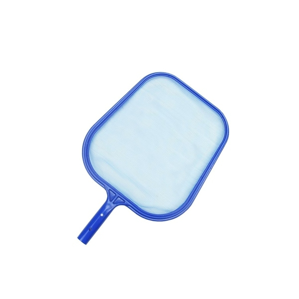"17.25"" Standard Blue Plastic Swimming Pool Leaf Skimmer Head"