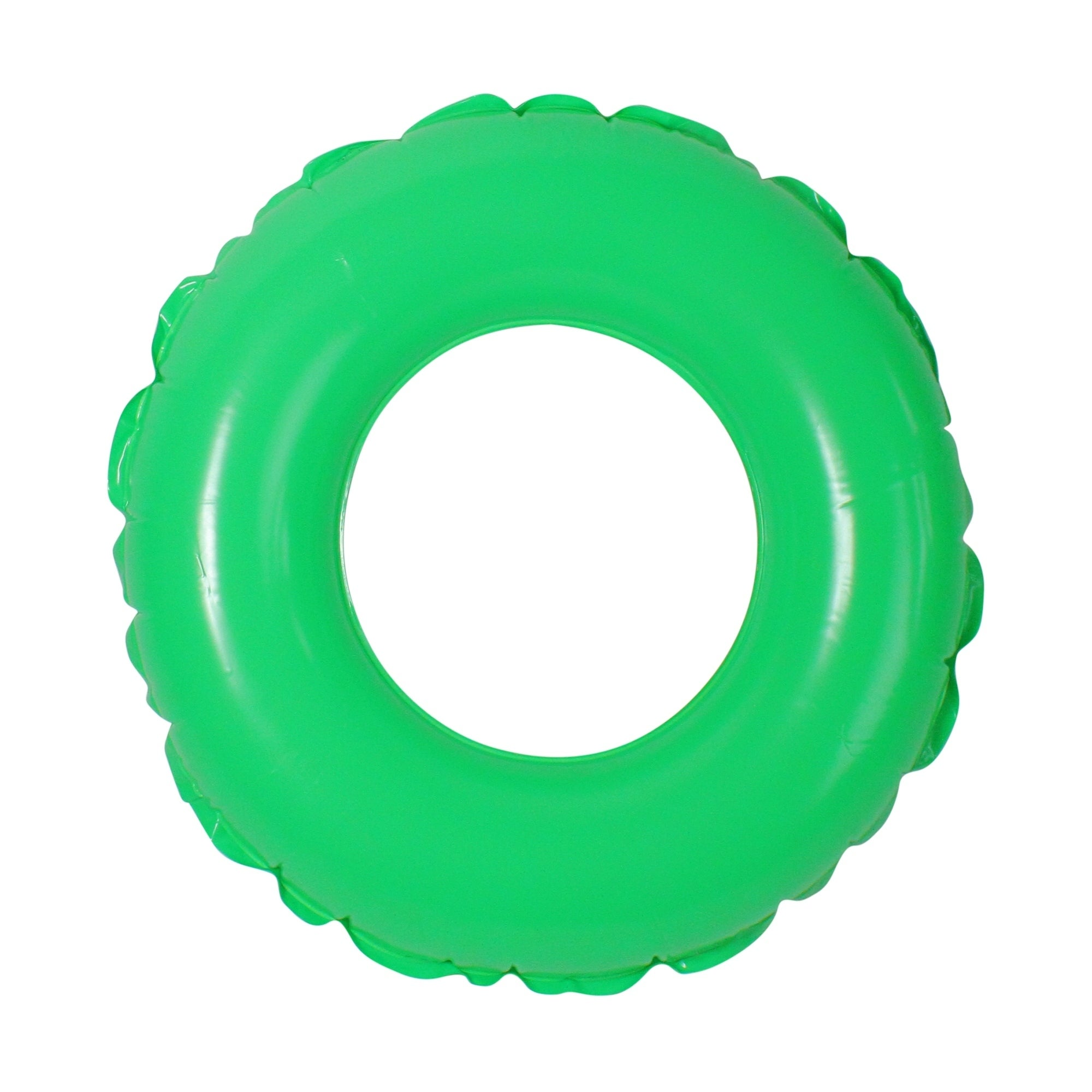 "24"" Classic Round Green Inflatable Swimming Pool Inner Tu..."