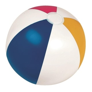 """24"""" Classic Inflatable 6-Panel Beach Ball Swimming Pool Toy"""