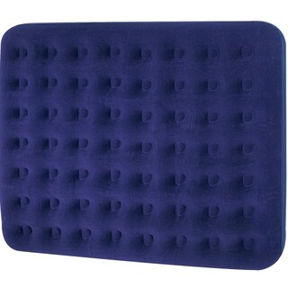 "75"" Navy Blue Double Sized Indoor/Outdoor Inflatable Air Mattress"