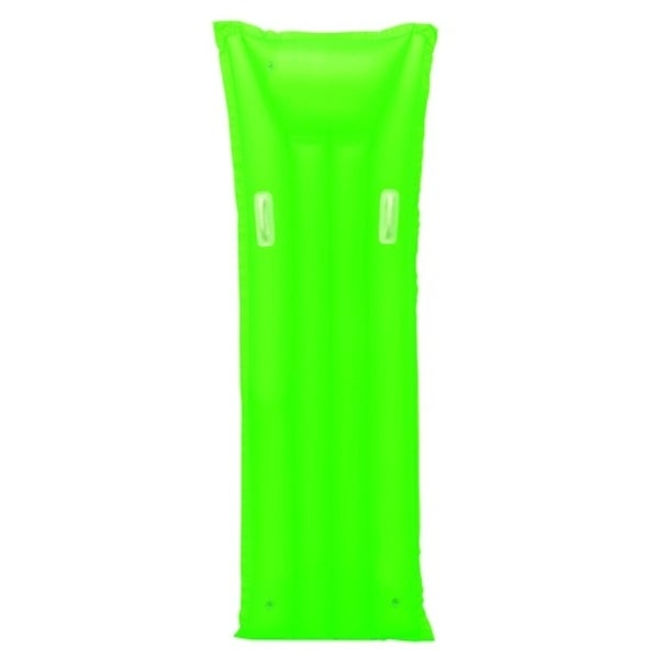 "72"" Neon Green Inflatable Air Mattress Swimming Pool Raft Float with Handles"