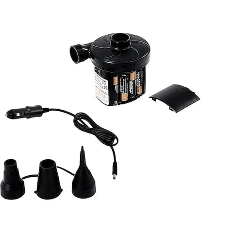 Battery Operated or DC Electric Powered Inflate and Deflate Air Pump - For Inflatables